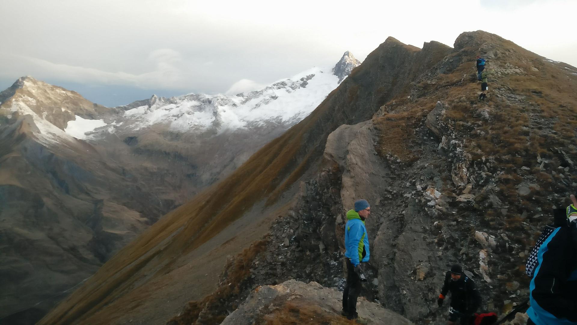 Trail du Petit Saint-Bernard - Franchissement du Col de l'Ouillon