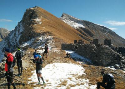 Trail du Petit Saint-Bernard 2019 | 60K | Pause aux ruine de Bassa Serra