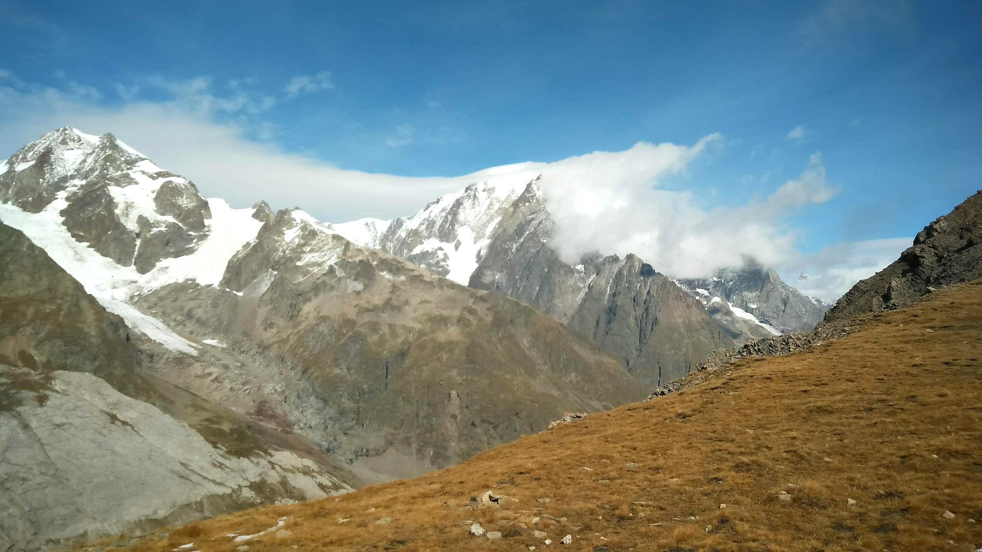 Trail du Petit Saint-Bernard - Le Mont-Blanc, roi de ces lieux