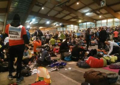Parc des Expositions de Saint-Etienne, l'attente avant le départ...
