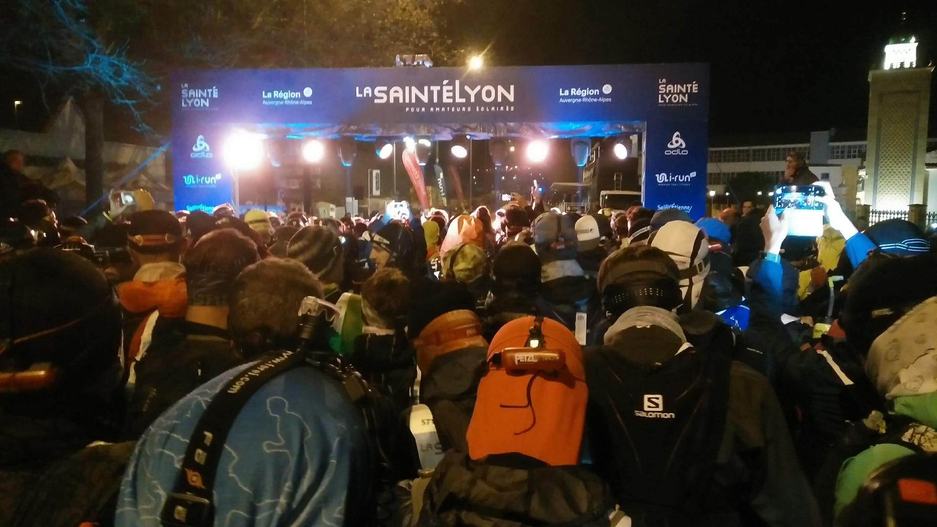 SaintéLyon 2019 - Quelques minutes avant le GO !