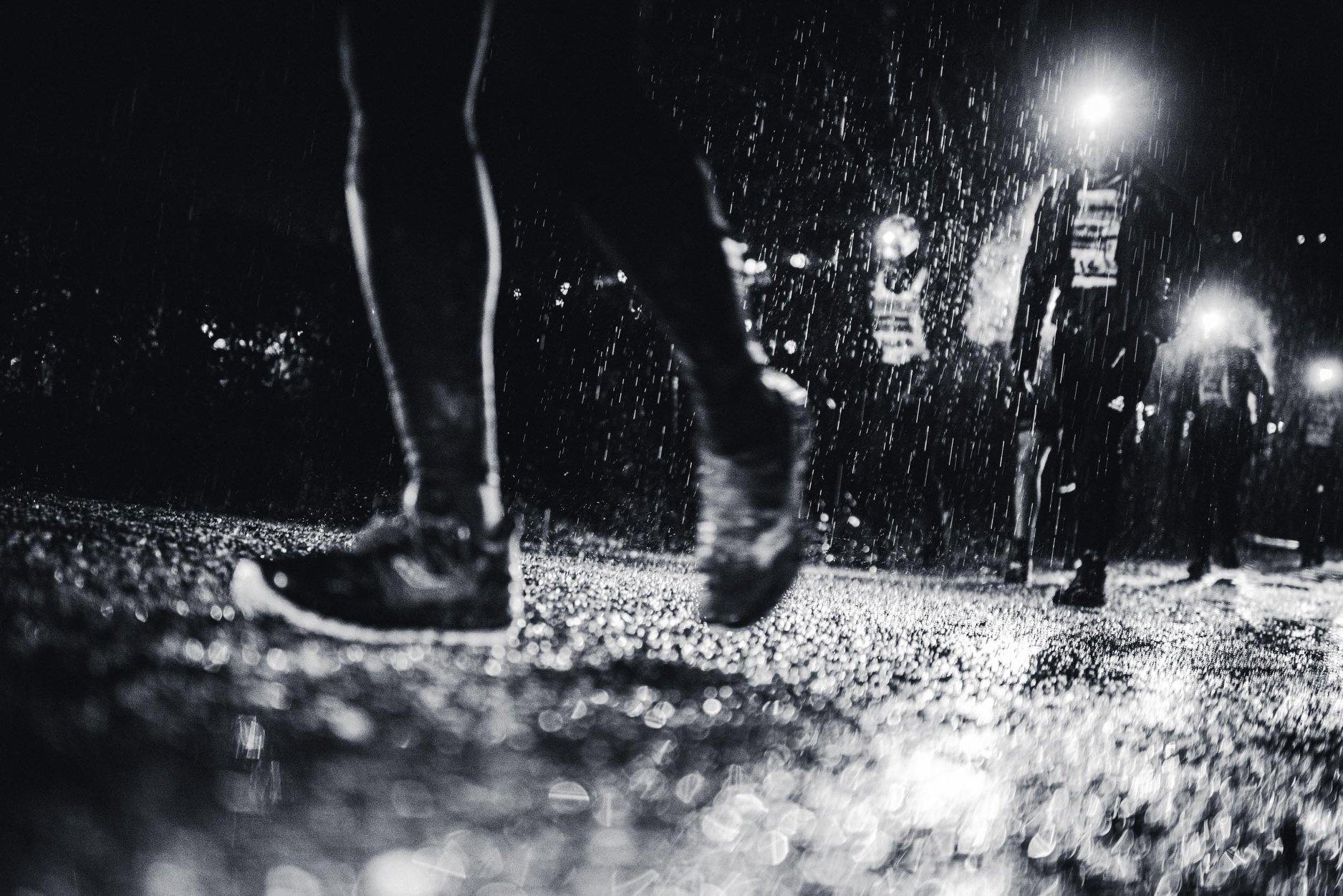 SaintéLyon 2019 - Pluvieuse ? - Photo : Peignée Verticale