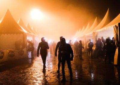 SainteLyon 2019 - Ravito humide - Photo : Peignée Verticale
